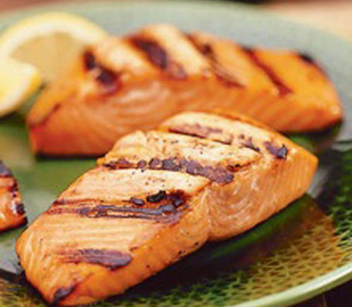 Cooked Salmon F...